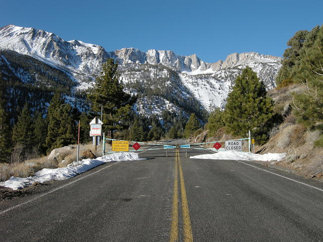 Tioga Road is Closed