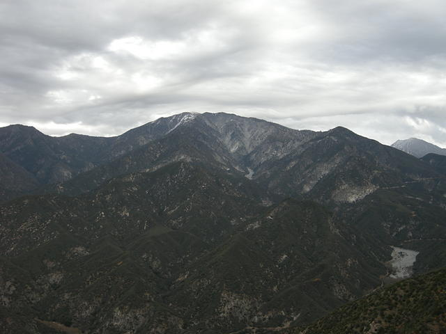 Mount Baldy with a storm on the way