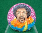 Jimmi Hendrix Golf Ball
