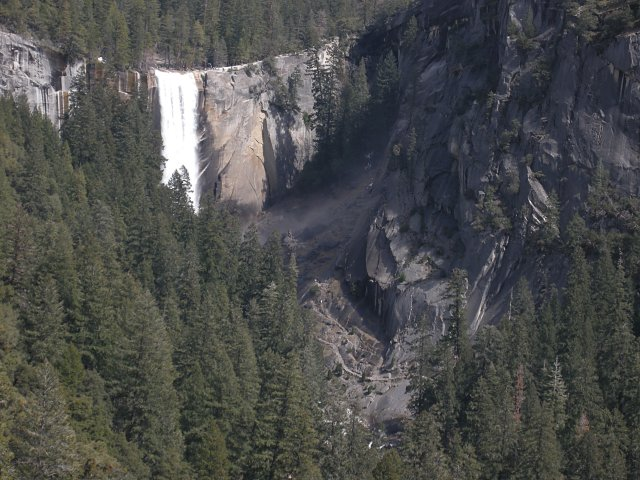 Vernal Fall from Sierra Point