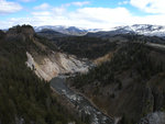 Yellowstone River below Tower