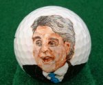 Jay Lenno golf ball