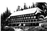 Glacier Point Hotel, constructed in 1917