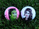 golf ball amy with frankenstein