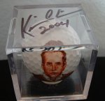 Kevin Costner autographed this one!