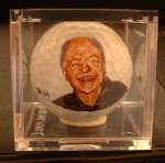 Cheech Marin golf ball