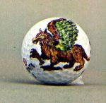 The Griffin golf art