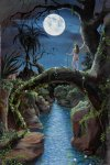 "JUNGLE GIRL-------(acrylic painting on canvas)        11""x14"" print $25.00 + $5.00 s&h"