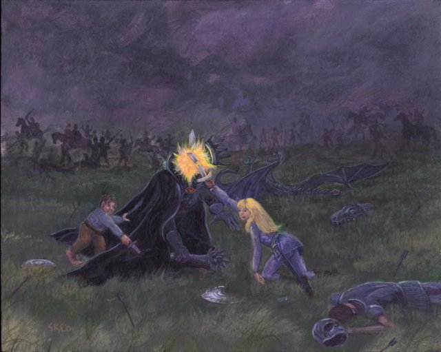 Defeat of the Nazgul