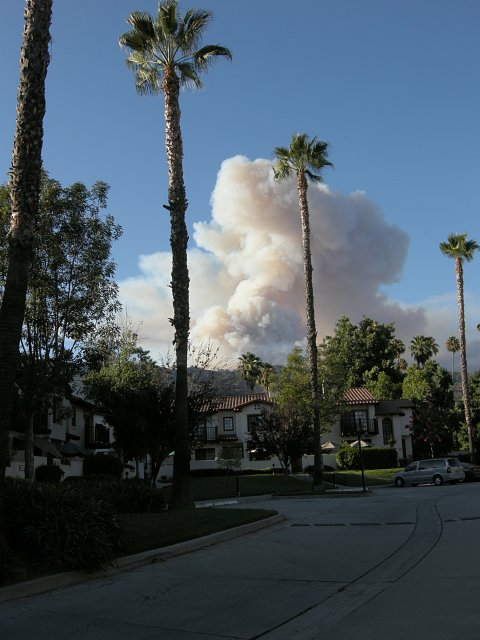 Morris Fire from Glendora