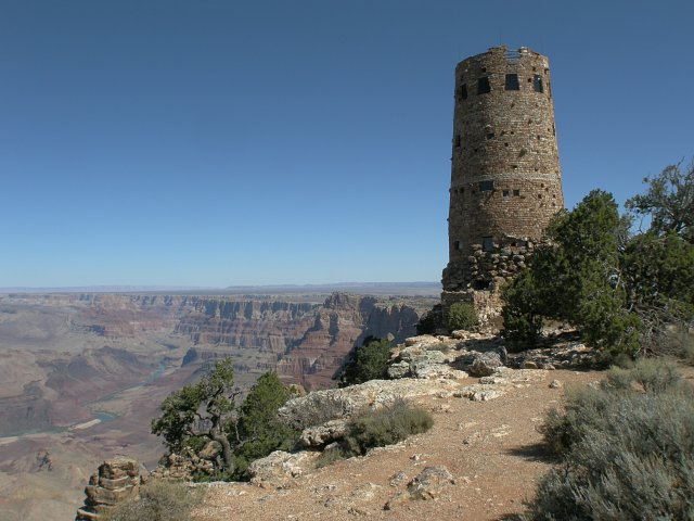 Desert View Watchtower - Grand Canyon National Park
