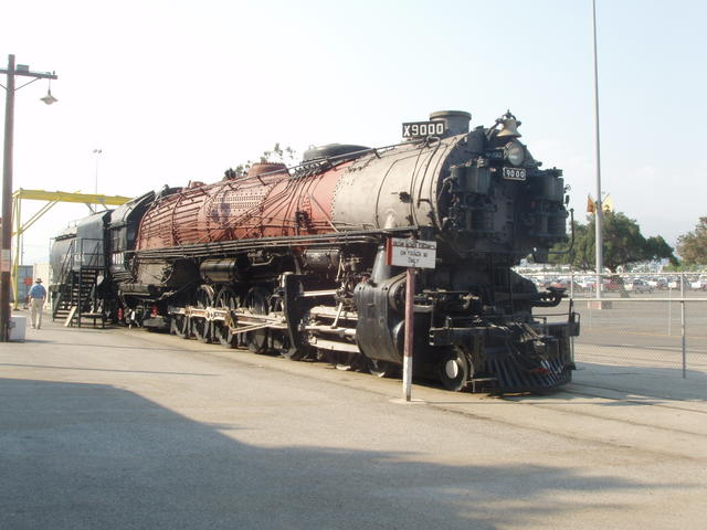 Union Pacific X9000 (Boiler Shell Removed)