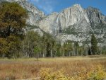 Early storm re-activated Yosemite Falls