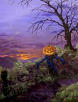 Halloween Paintngs and Art by SKE