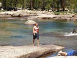 Swimming in the Tuolumne River