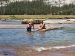 August Swim in the Tuolumne River