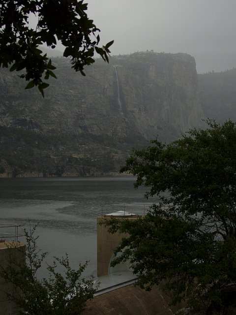 Gray Day at the Hetch Hetchy Spillway