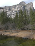 North Dome, Washington Column and the Merced River