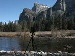 Bridalveil Fall and View Camera