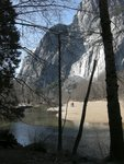 Merced River Near Swinging Bridge