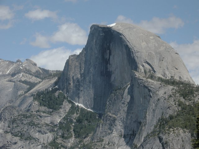Half Dome and the Diving Board
