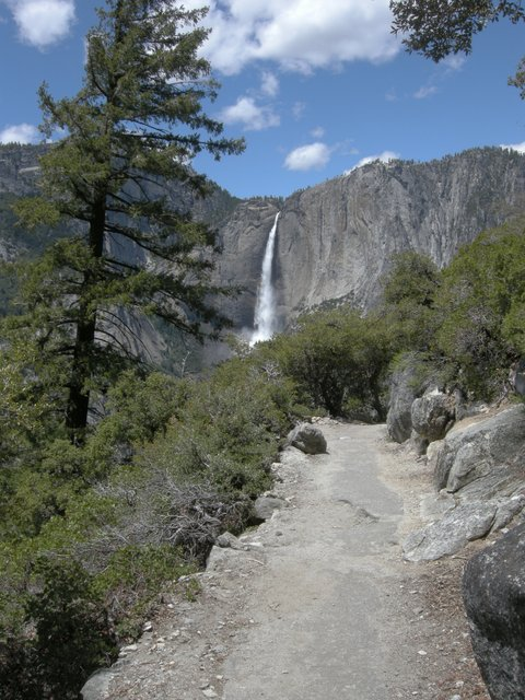 Four Mile Trail and Upper Yosemite Falls