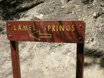 Lamel Spring is a short side trip