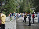 Yosemite Tourists
