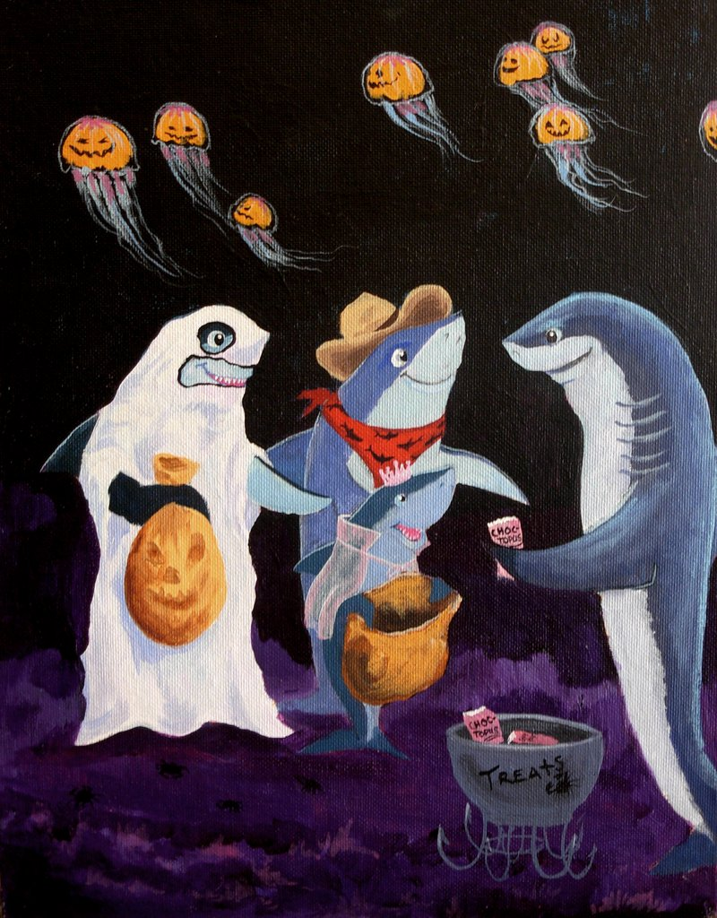 Trick or Treat Shark Style