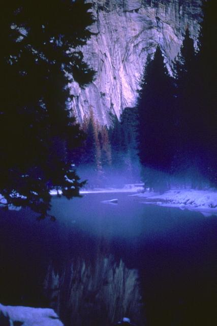 Early Morning Fog on the Merced River