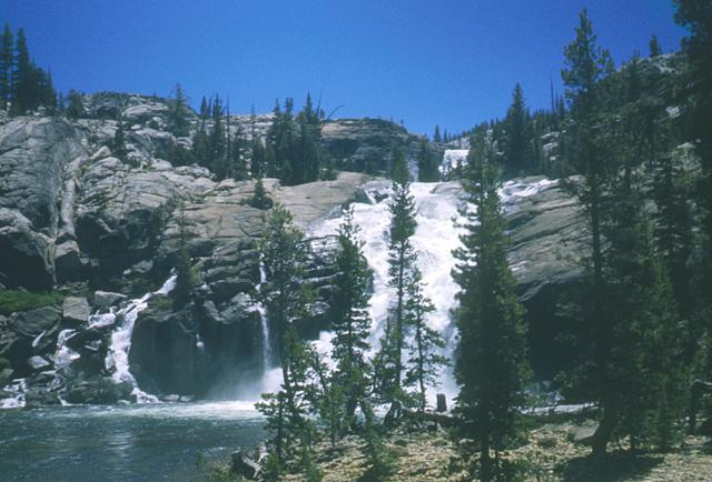 Falls on the Tuolumne River
