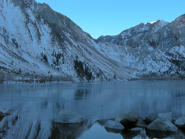 Early morning at Convict Lake