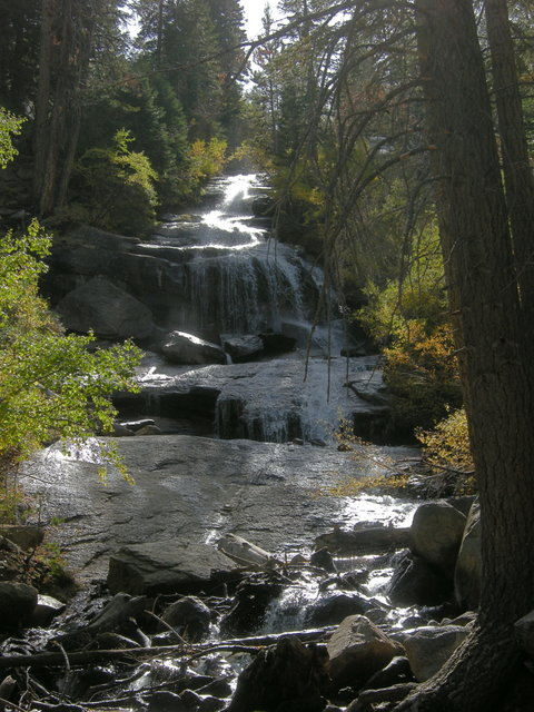 Waterfall at Whitney Portal