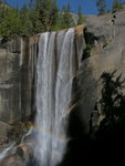 Vernal Fall with a Rainbow