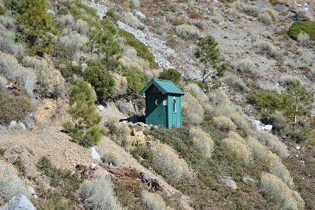 San Antonio Ski Hut Outhouse