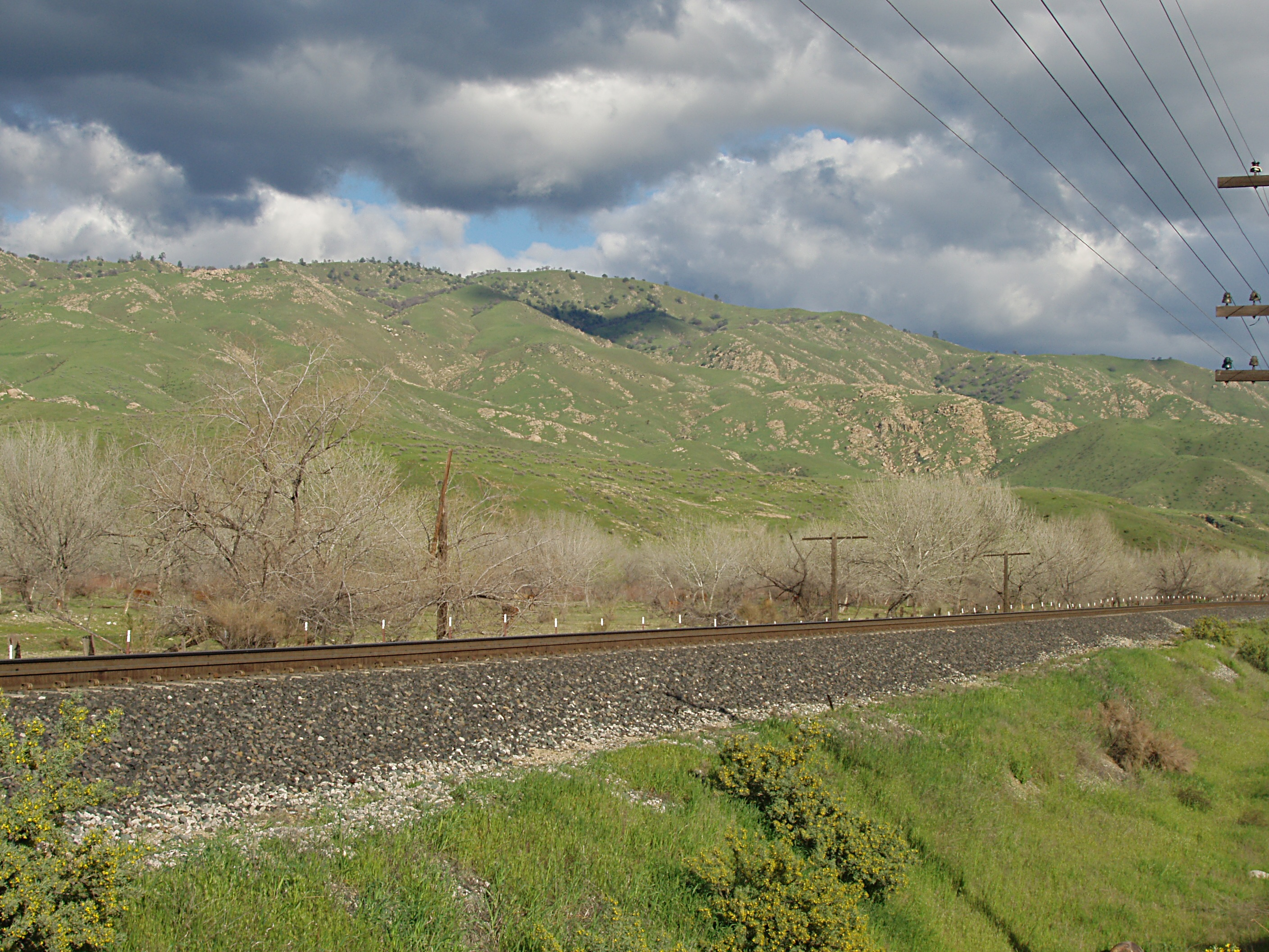 Green Hills and Tracks