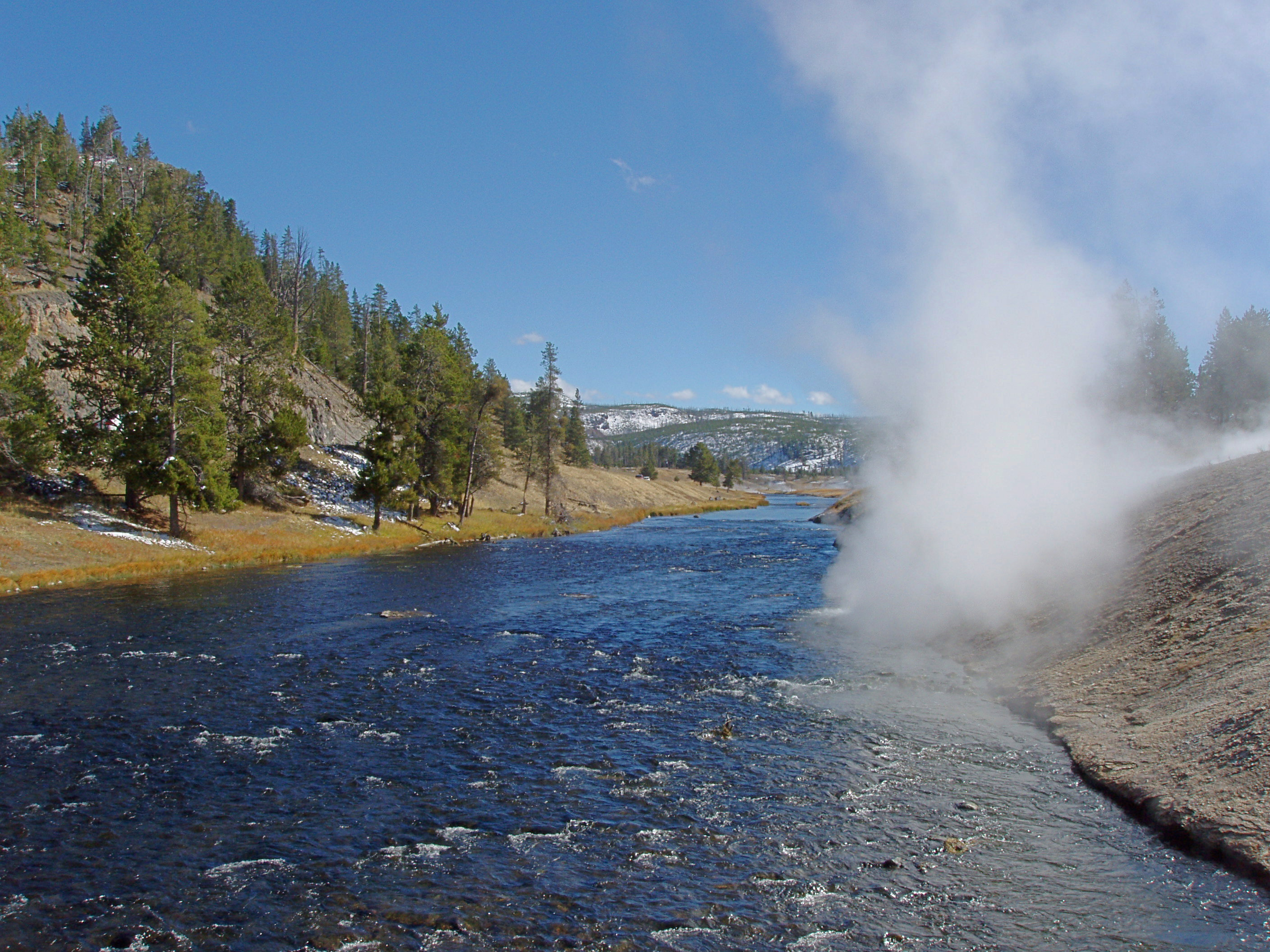 Firehole River at Excelsior