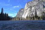 A cold morning in Yosemite Valley
