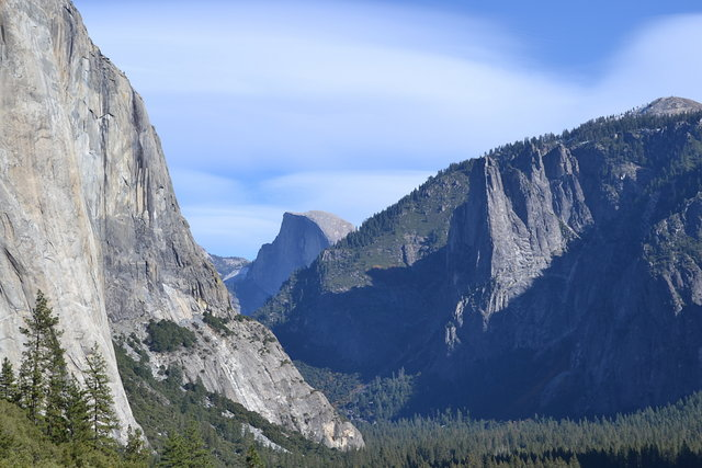 Yosemite Valley from Old Big Oak Flat Road