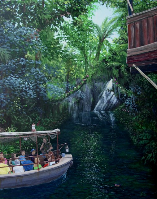Jungle  Rain Forest Cruise