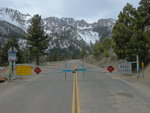 Tioga Pass is closed in winter