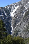 Rock slides and snow avalanches must be common here