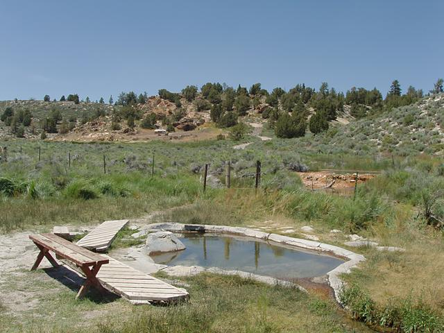 Little Hot Creek's Soaking Pool