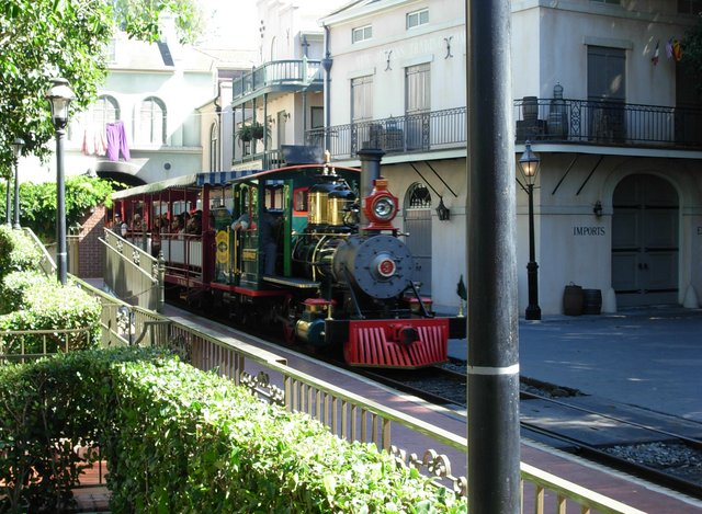 Disneyland Steam Train Eng 3 with Holiday 5
