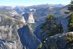 Looking up the Merced River from Glacier Point