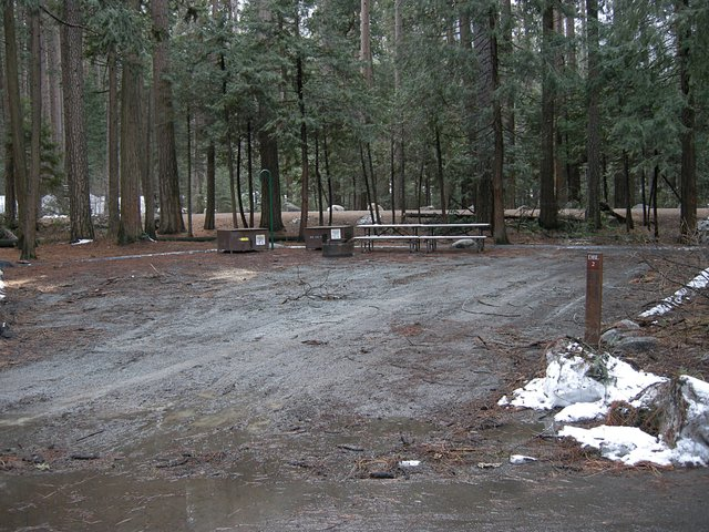 Yosemite Lower Pines Campground Site DBL-2