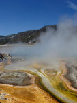 Colorful Outflow at Biscuit Geyser Basin