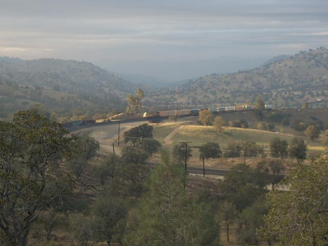 Fading Light at the Tehachapi Loop