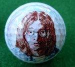 John Lennon Golf ball 1