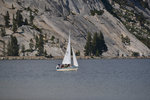 Sailboat on Tenaya Lake